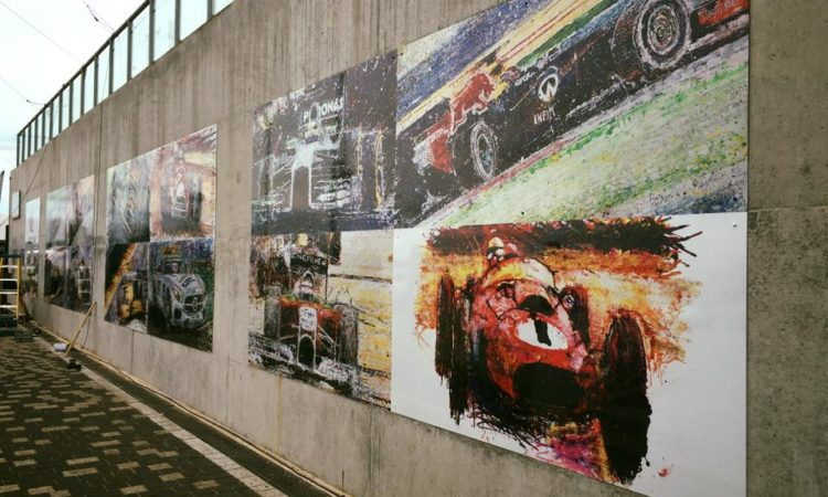 Popbang panels at Silverstone